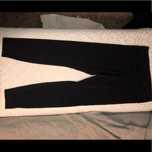 Lululemon Low Rise WonderUnder Black leggings 6